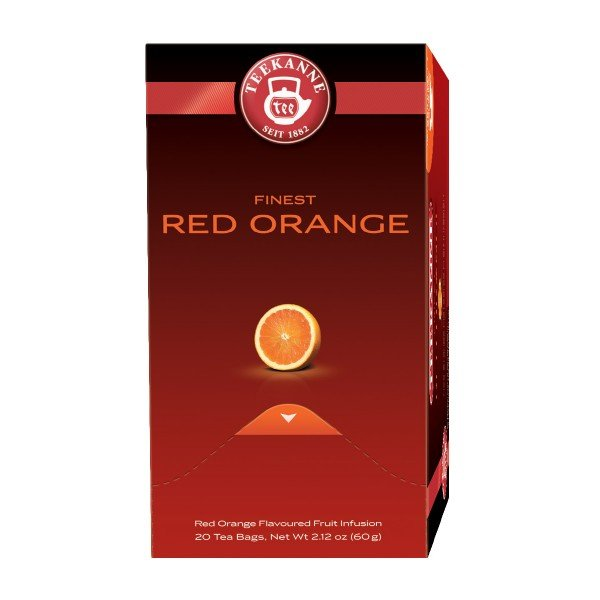 Čaj Red Orange, Teekanne Premium