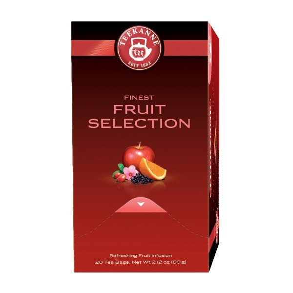 Čaj Fruit Selection, Teekanne Premium