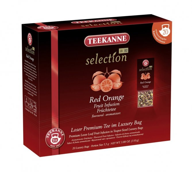 Čaj Red Orange, Teekanne Selection 1882