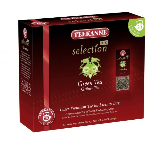 Čaj Green tea, Teekanne Selection 1882