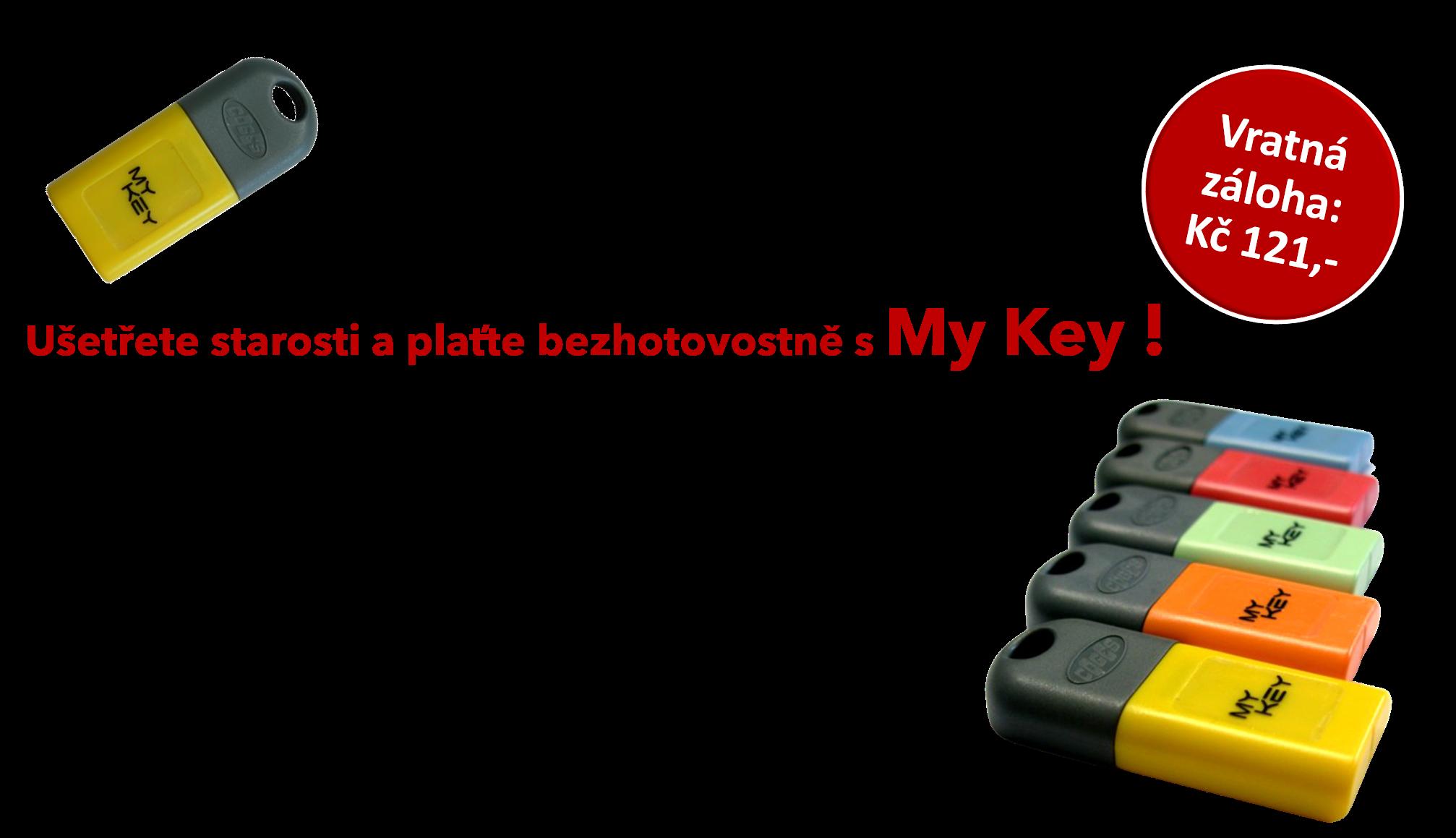 Čipový klíč My Key